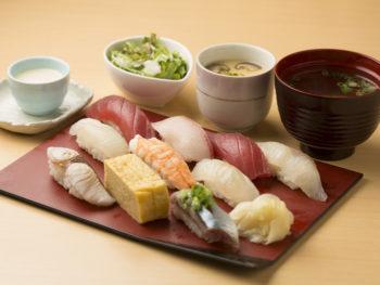 ネタの鮮度抜群! 本格江戸前寿司を、ランチでリーズナブルに。