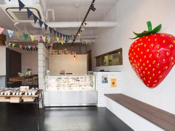 '18年3月OPEN! キュートなビジュアルの洋菓子店。