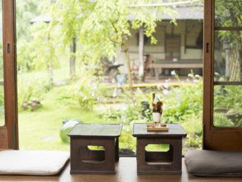 四季を映す庭園を眺めながら、彩り豊かな韓国料理を味わう。