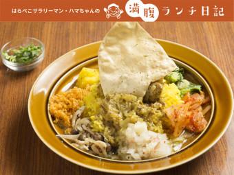 多彩な惣菜&スリランカのカツオ節「モルジブ・フィッシュ」が味を深める、本格スリランカカリー。
