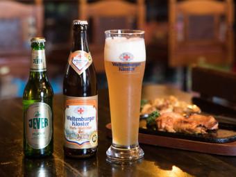 珍しいドイツビールを揃え、長きにわたりファンを魅了。