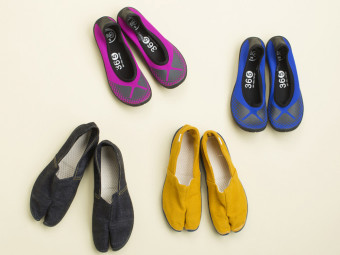 足のことを考えた、足袋発想の 新アイテムが続々登場。