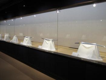 《こんぴらさんの名刀展》「金刀比羅参り」で奉納された名刀の数々を展示。