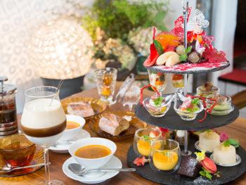 《倉敷アフタヌーンティー》人気のスイーツ企画で岡山の「桃」や「ぶどう」を満喫!