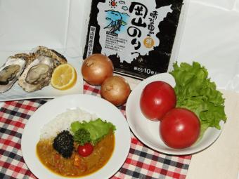 「晴れの国から 岡山の海カレー」で、お魚の祭典Fish-1グランプリの頂を目指す。