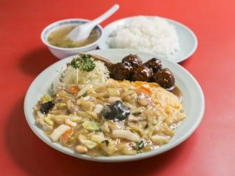 50年以上愛され続ける、大衆中華料理店。