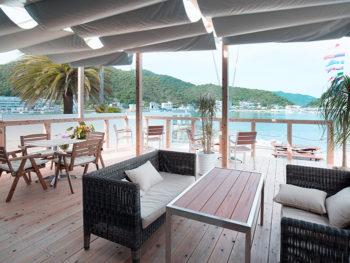 《cafe RAD》'18年5月OPEN! のんびりと日生湾を眺めながら、こだわりのコーヒーやサンドメニューを。