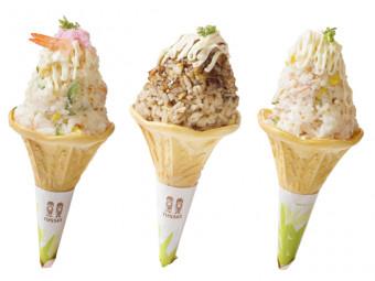 回転寿司店でびっくりメニューを発見。寿司が、まさかのソフトクリームに!?