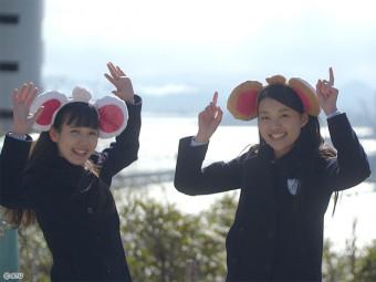 STU48が鷲羽山であの「チューピーのカチューシャ」を! ココイチとのコラボキャンペーン実施中!