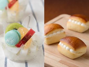 《パンわーるど 総社 2018 夏!! 》「カルピス」を使ったパンとケーキがいっぱい