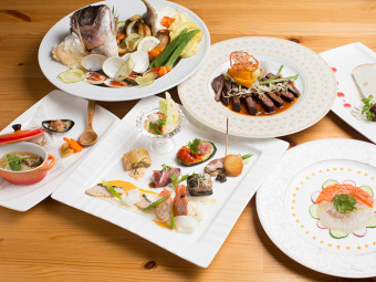 《ルリアン》家族三世代での子どものお祝いは、主役の子どもが最後まで食べられる料理で。