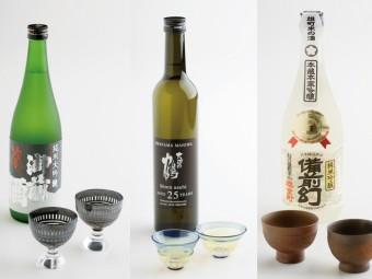 父の日に贈る日本酒&ぐいのみセット。