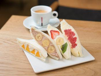 《倉敷市/もとや》季節の果物を存分に味わうフルーツサンド専門店。