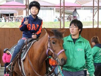 《パカパカフェスタ》吉備高原の大自然に抱かれて、馬と一緒に楽しめるイベント。