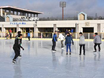 《アイスランド津山》期間限定の屋外スケートリンクが今年も津山でオープン!