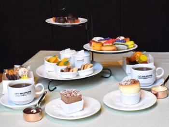 《岡山市/Aux Delices (オーデリス)》女性を中心に人気のデザートスフレ専門店の「アフタヌーンティーセット」が話題に。