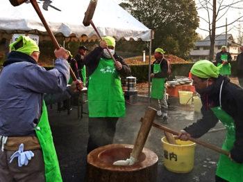 《 サンヒルズ 年末感謝祭》つきたての「杵つき餅」など、お正月の準備は『サンヒルズ』でOK?!
