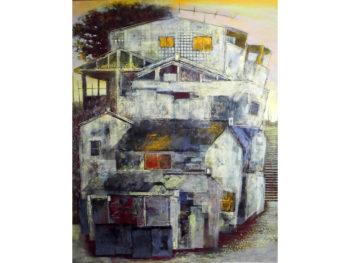 《稲岡篤展》真庭市在住。過ぎゆく日々に残留した営みの痕跡、物言わぬ情景の魅力を描いた稲岡篤の作品展。