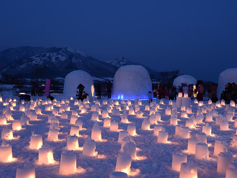 《ひるぜん雪恋まつり》蒜山の冬と雪を満喫! かまくら、ソリ、スノーシューのほか、ご当地グルメも登場!