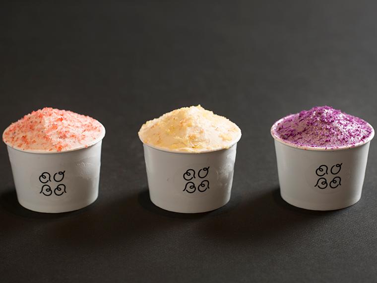 《岡山市/AOBA》'18年12月OPEN! 食べ進めていくうちに、食感が変わる。 果物や野菜のおいしさが詰まったアイス。
