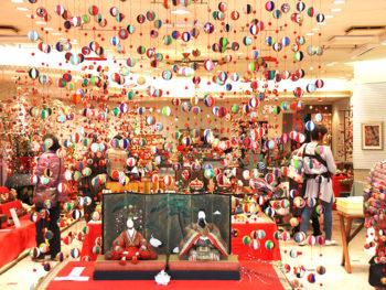 《津山城下町雛めぐり》さまざまな表情を見せてくれるひな人形と、イベント盛りだくさんの城下町・津山へ出かけよう。