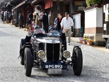 《ベッキオ・バンビーノ》今、万感の想いを込めて旧車が往く。岡山をダイナミックに駆け抜けるクラシックカーラリー開催!