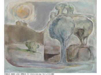 《勝央美術文学館》勝央町ゆかりの画家や作家の作品に触れられる、美術と文学の展示を共催。