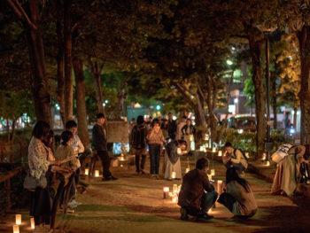《西川キャンドルナイト》音楽や飲食を楽しみながら、四季の移ろいと人生に思いを馳せる「キャンドルな夜」をどうぞ。