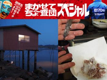 《岡山市/四つ手小屋【後編】》真夜中の海小屋を貸切る究極の「インドア漁」を体験! 児島湾の自然派レジャー『四つ手網』とは?