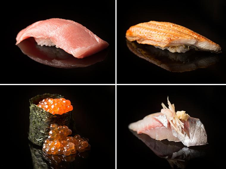 《岡山市/かね吉 田町店》'19年4月OPEN! 新鮮な魚介と朝日米のシャリを使った、1貫80円~の回らない寿司店。