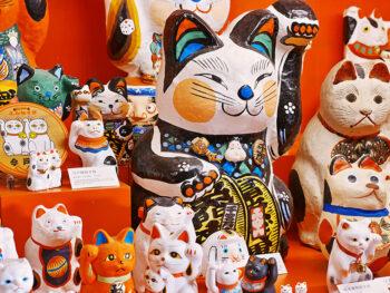 《招き猫美術館》催し盛りだくさん。福を呼ぶ美術館で楽しい夏休みをすごそう!