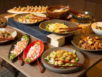 《倉敷市/武野屋 中庄店》'19年4月OPEN! 約30種類のおばんざいが食べ放題! 本格そばが味わえる人気店。