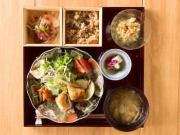 《岡山市/ハナレ》自宅の「ハナレ」使いとして、家庭的でやさしいごはんを味わって。