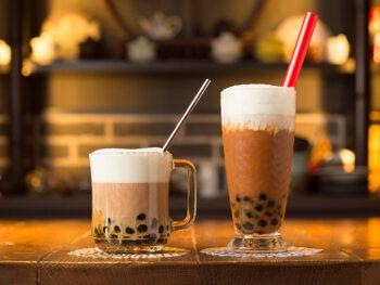 《玉野市/無天茶坊》本場・台湾の味を再現! 本格的なタピオカミルクティーを味わって。