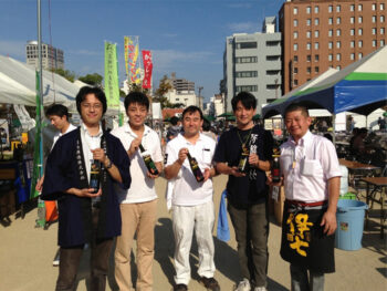 《おかやま秋の酒祭り》岡山にとことんこだわった酒祭り。「おかやま」を飲んで食べて味わいつくそう!