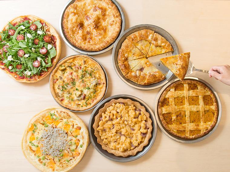 《岡山市/Green Days Pies&Coffee》パイ専門店にリニューアル! ランチのパイ食べ放題に注目