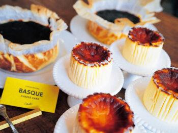 《てんまやスイーツマルシェ》バスクチーズケーキ、カヌレ、かりんとう饅頭、おせんべい…。話題のスイーツが集結!