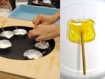《わくわく実験室》今回は「べっこう飴作り」にチャレンジ。親子一緒に、身近な科学に触れてみよう!