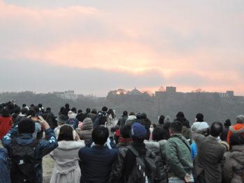 《津山城から初日の出を見よう!》令和2年の新年は『津山城』へ。みんなで初日の出を迎えよう!