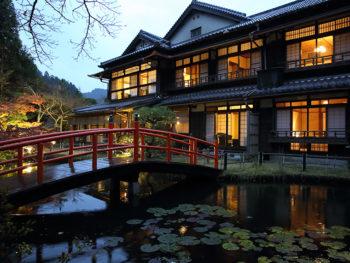 《大阪府/あまみ温泉 南天苑》大阪の奥座敷に生き続ける、歴史建築の宿に身を委ねて。