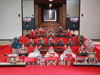 【野﨑家のお雛様展】野崎家伝来の貴重な雛飾りなど200点を公開。「おひな同窓会」も限定開催。