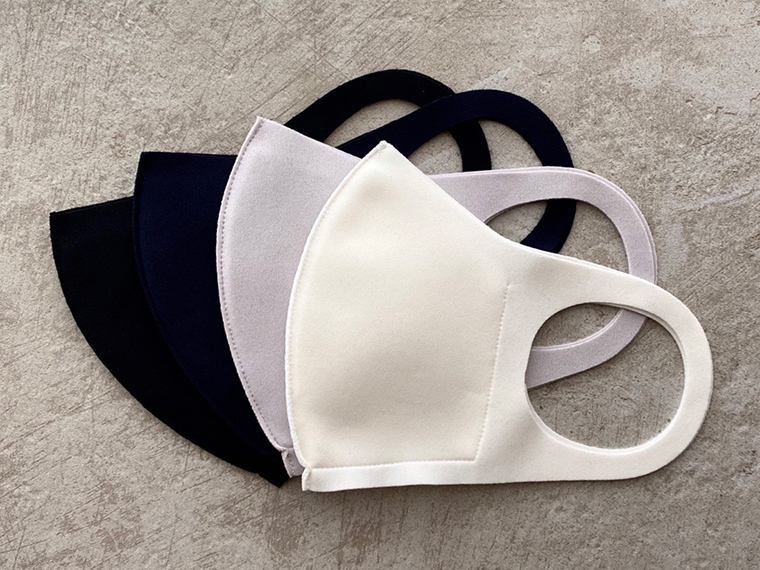 《つけ心地マスク》メイドイン小豆島。パリコレブランドなどを手がける職人が高い感性で作った、ストレスフリーなマスク